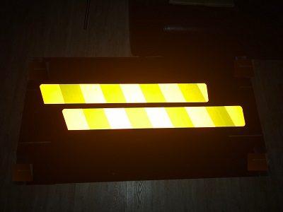 Желто-оранжевые полосы