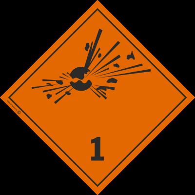 Знак класс 1.1,1.2,1.3