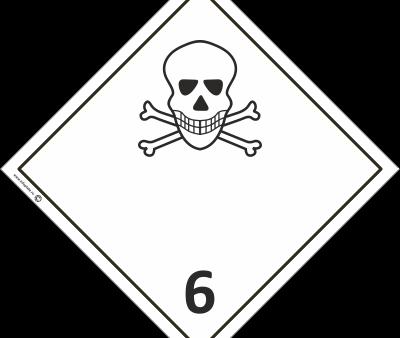 Знак класс 6.1