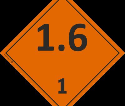 Знак класс 1.6