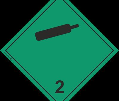 Знак класс 2.2